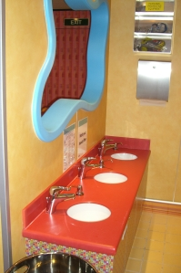 Camp Carnival Bathroom - So Cute!