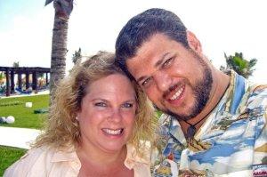 Neil & I in the Riviera Maya