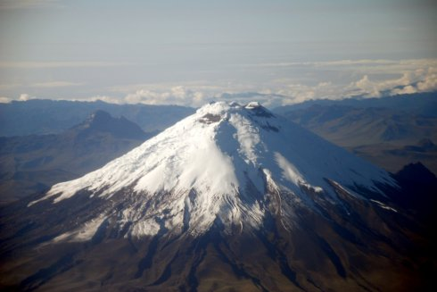 Volcano from Airplane 2