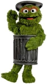 Garbage Can together with Pan together with Oscar The Grouch Now In Turks Caicos And Negril likewise Oscar The Grouch together with Sesame Street Plan Movie With Fox. on oscar the grouch trash