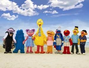 Sesame Street Beach Gang